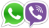 whats app viber logo icon